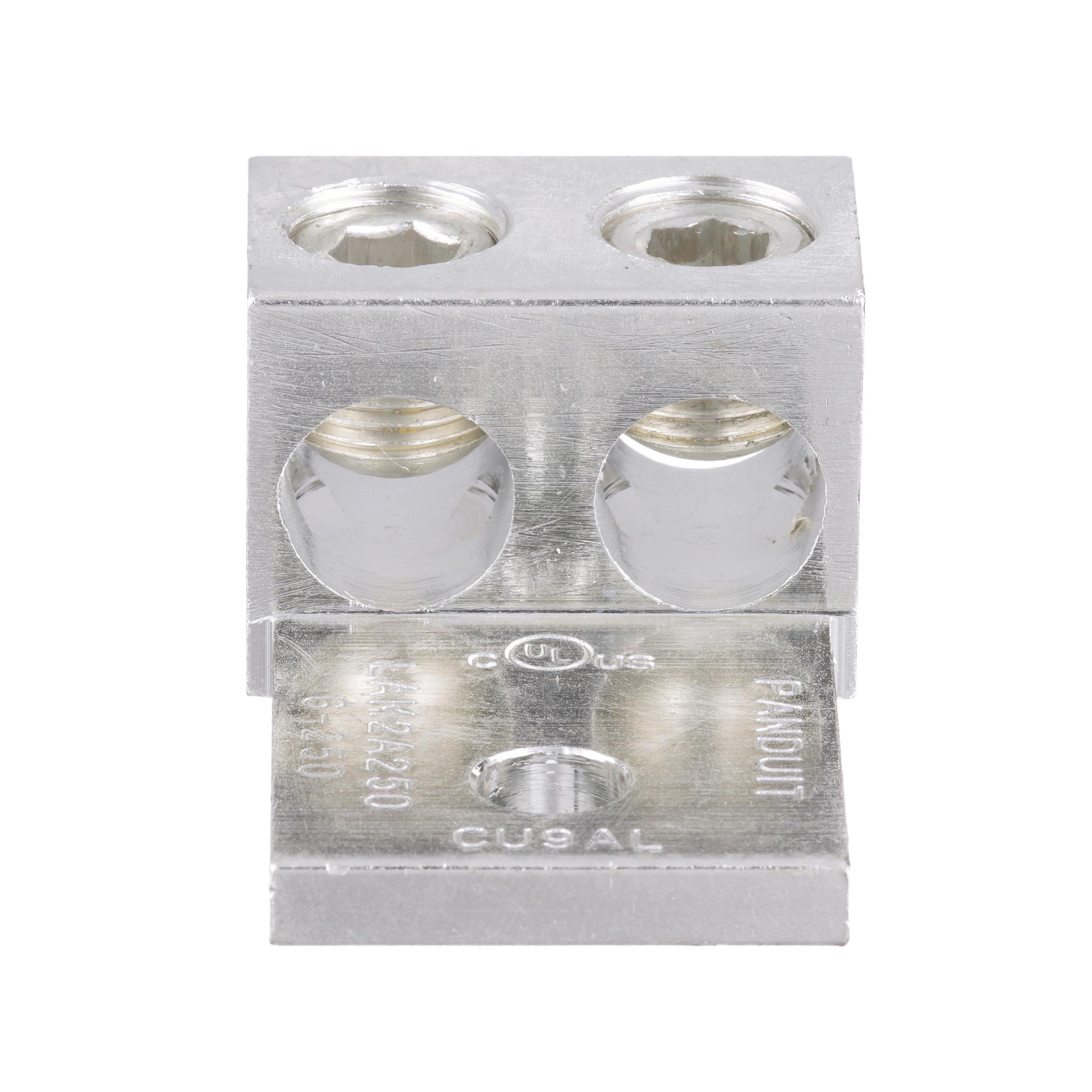 PAND LAM2A250-38-6Y AluminumMechanical Lug 1 Hole 2 Barre