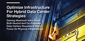Optimize Infrastructure for Hybrid Data Center Strategies White Paper